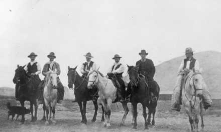 The Way We Were: Photo from mid '30s shows Osoyoos cowboys and ranchers
