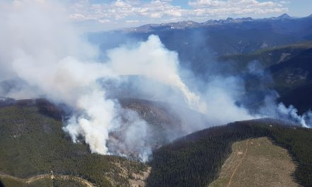 Helicopter used to battle Snowy Mountain blaze