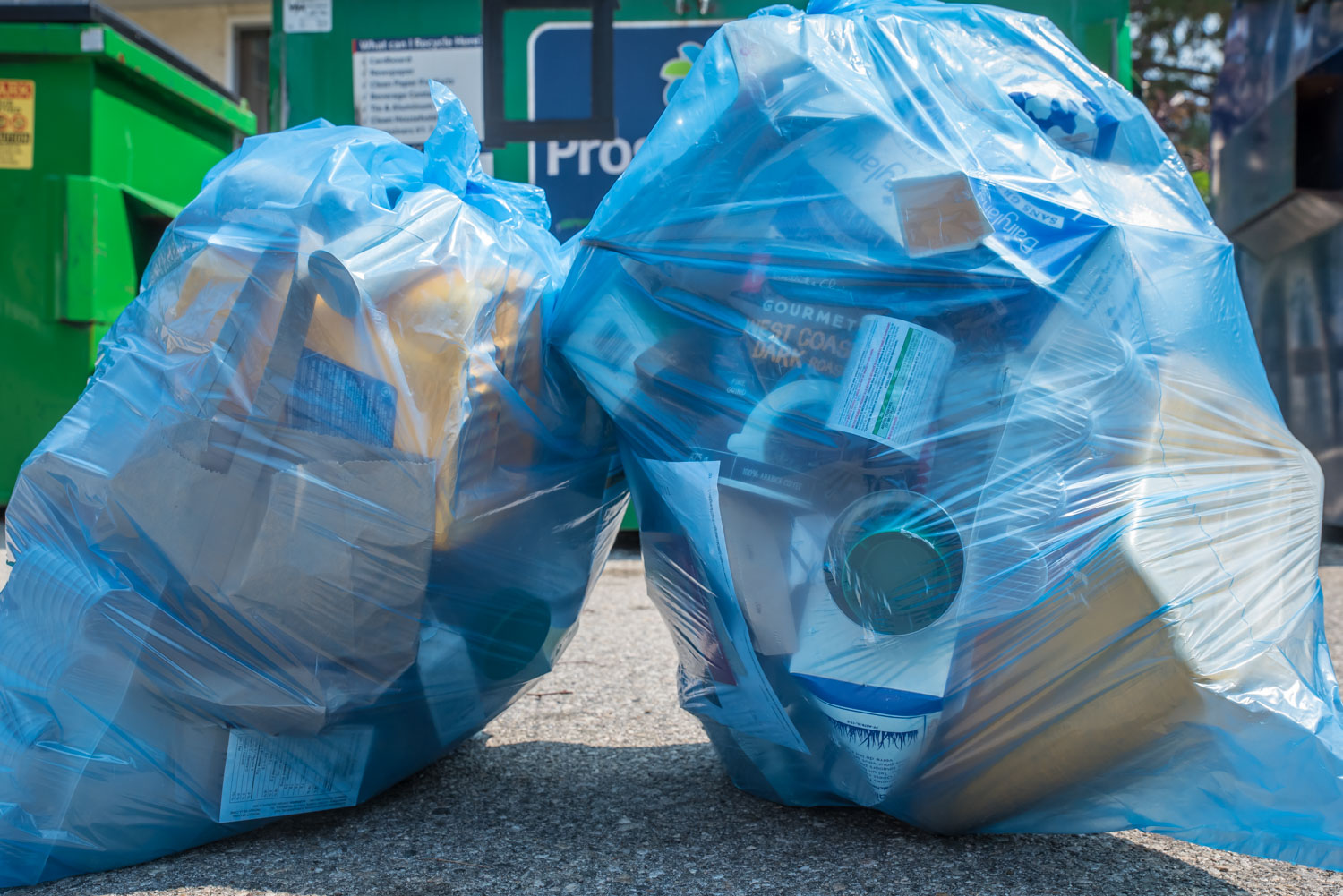 Recycle Bc Forcing Town To Get Rid Of Blue Bags Just After Signed Five Year Collection Contract Osoyoos Times