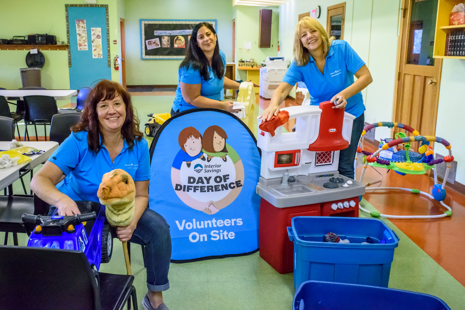 Interior Savings staff helps out in community on 'Day of ...