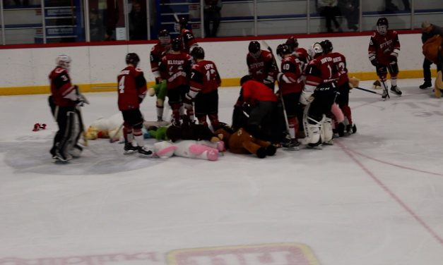 VIDEO: Osoyoos Coyotes' annual Teddy Bear Toss