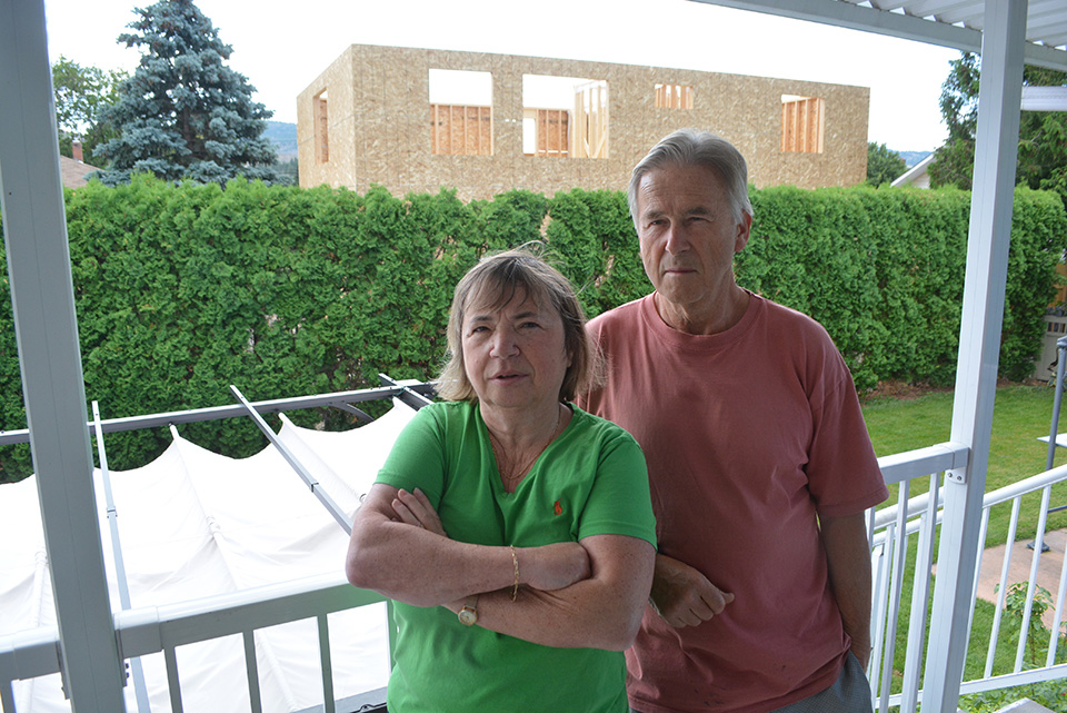 Homeowner cries foul over invasion of privacy