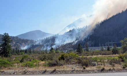 Eagle Bluff fire throws pall over Oliver
