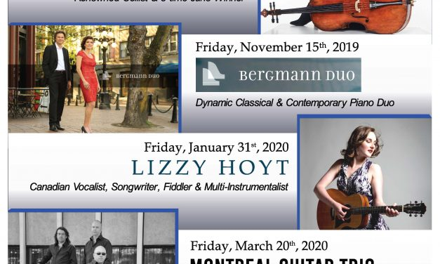 Concert society gearing up for great lineup