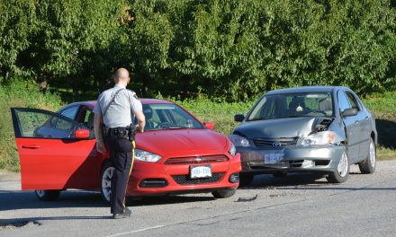 RCMP investigate two-vehicle collision