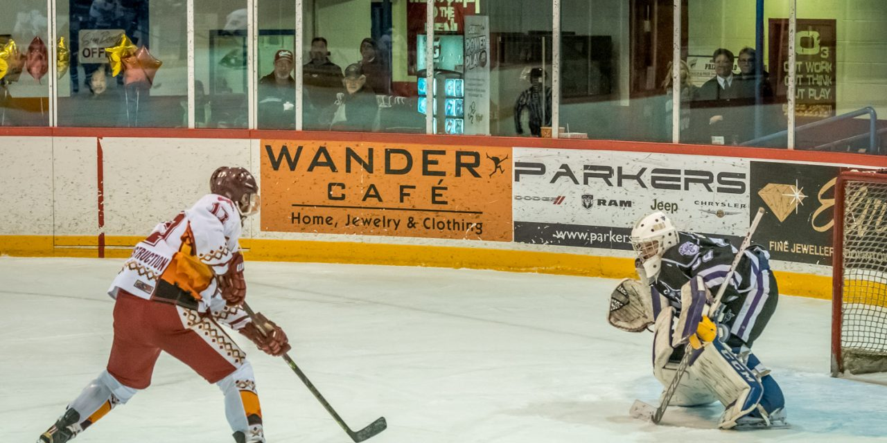 Aitken earns second shutout in a row as Coyotes pound Knights 7-0