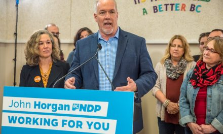 NDP Leader John Horgan picks Osoyoos to speak about education