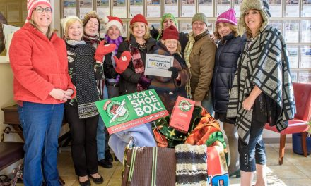 Royal LePage collecting donations for SPCA