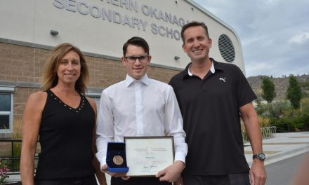SOSS graduate awarded top academic medal