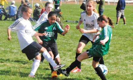 Warm weather greets players for annual Osoyoos Ice Breaker Soccer Tournament