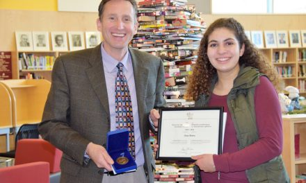 SOSS student wins Governor General's medal