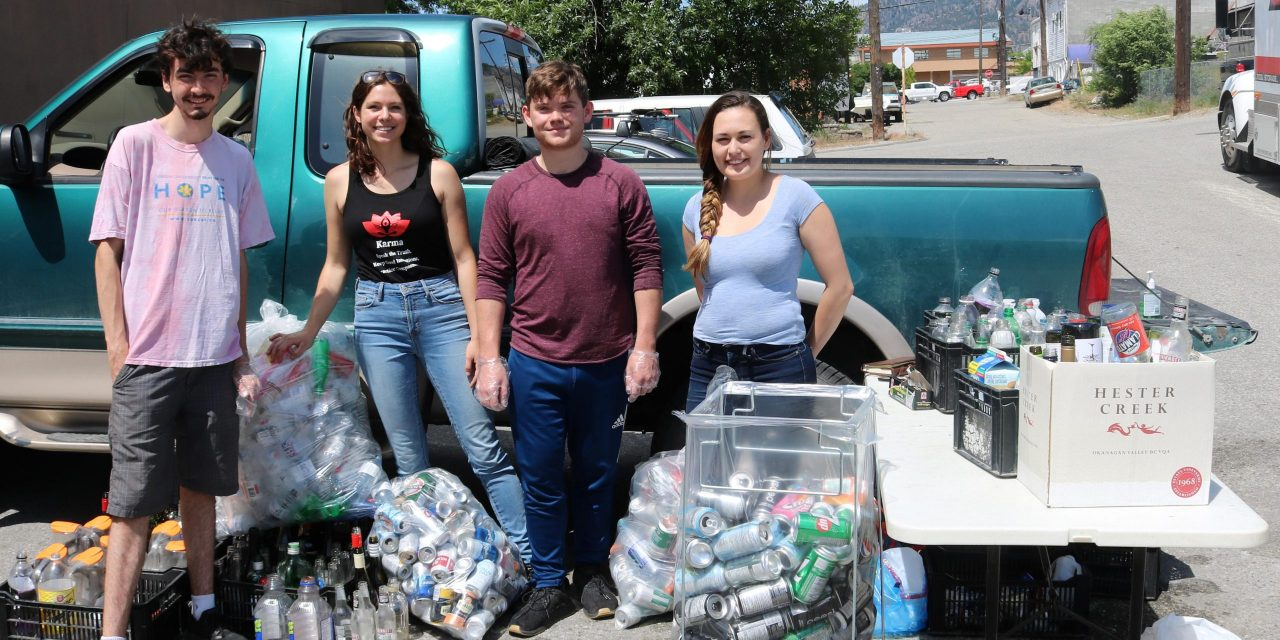 Local friends host bottle drive to support anti-racism movement