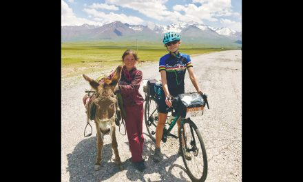 Cyclist to share story of epic Silk Road journey