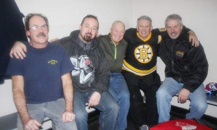 Heart attack survivor thanks buddies with beer and pizza
