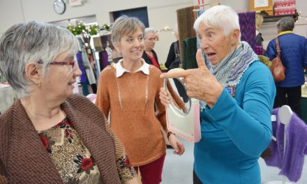 Artists and crafters unite at community centre