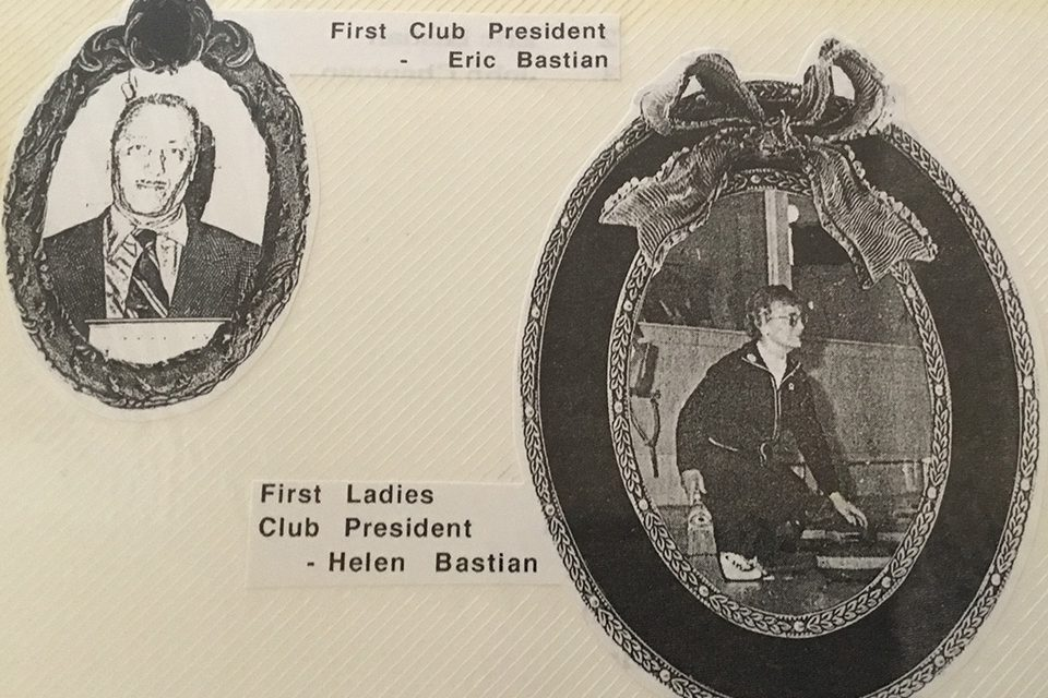A piece of Curling Club history