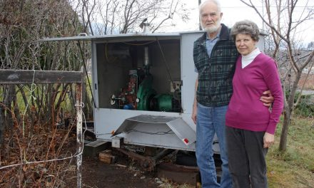 Osoyoos couple enjoying life 'off the grid' without electricity the past seven months