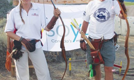 Local archers selling goods to raise money to compete in world championships in Italy