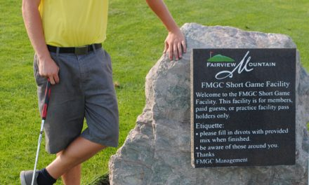 Oliver's Declan McDonald taking strides to improve golf game