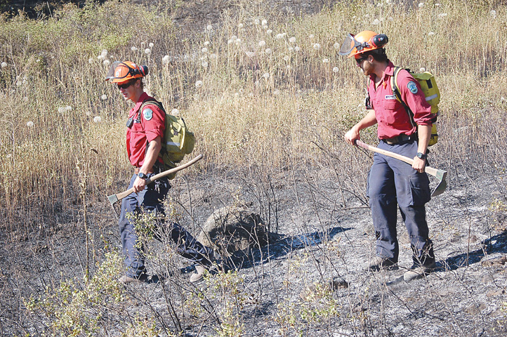 Crews actioning 1.5 hectare wildfire
