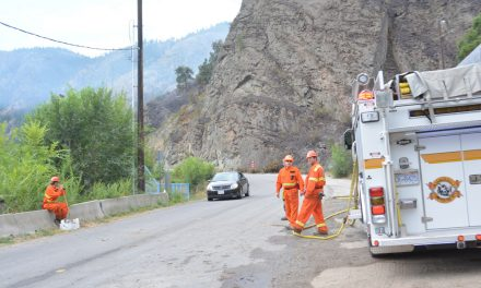 Okanagan Falls fire 75 per cent contained
