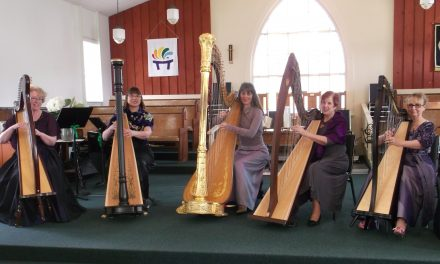 The sound of harps