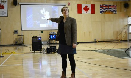 A heart-felt chat with Oliver school students
