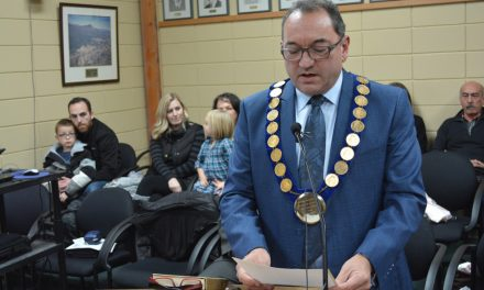 New Oliver Town council members take oath of office