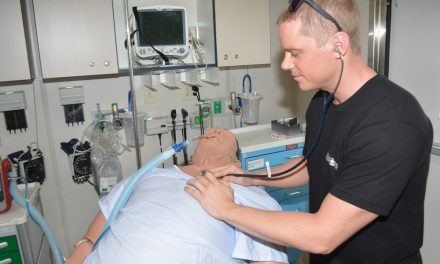High-tech hospital on wheels rolls into Oliver