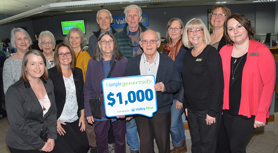 Ouellette nominated top volunteer for generosity