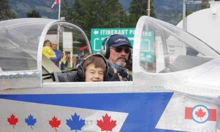 Young boy's passion for flying literally takes off