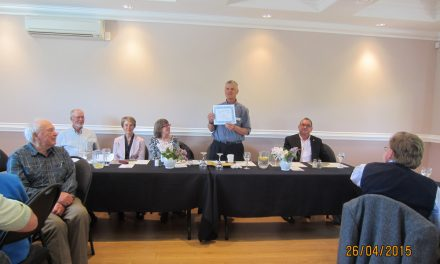 Historical Society honours Shannon at AGM