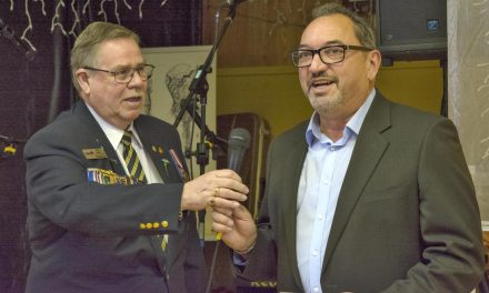 Mayor Hovanes honoured to be latest recipient of lifetime Legion membership