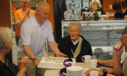 Len Pitt: Celebrating birthdays for a century