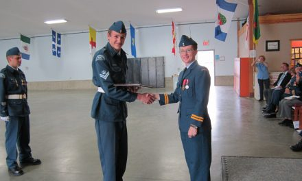 Cadets shine at annual review