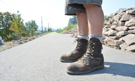 New parks shaping up – guess who's wearing the boots