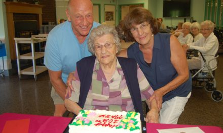 At 103, Mary does everything in moderation