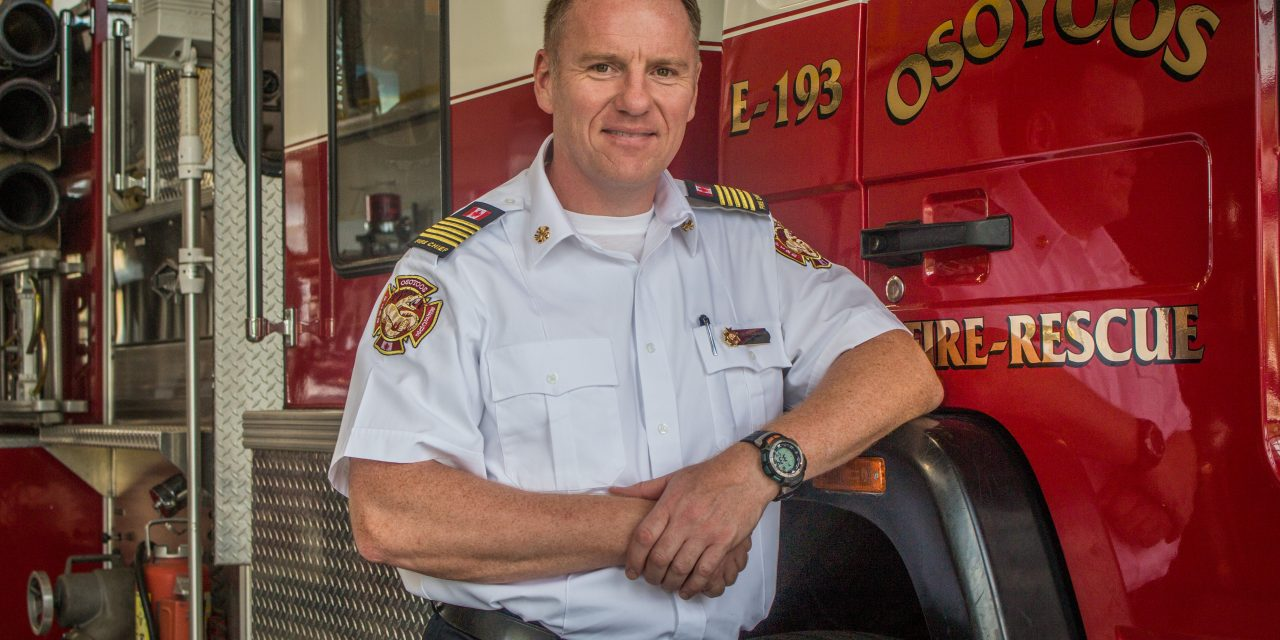 Osoyoos fire chief moving on