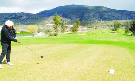 Canyon + desert + cherry grove = One spectacular Oliver golf course