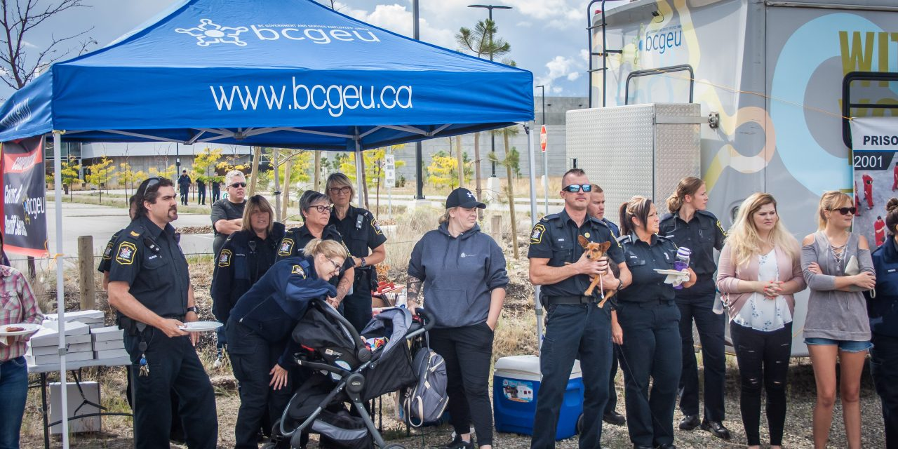 OCC staff join provincial rally against prison violence
