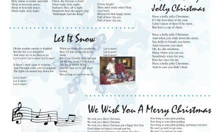 Oliver Chronicle publishes Christmas carolling supplement