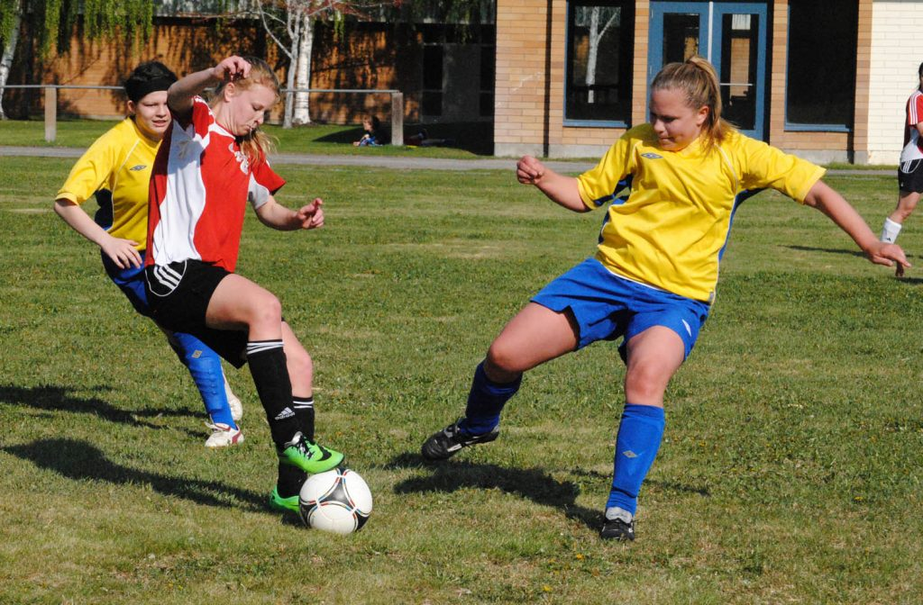 Spring has sprung and that means the minor soccer season is just around the corner in Osoyoos and across the South Okanagan. Several local teams will be competing in warmup tournaments this weekend and the regular season starts next week for all teams registered with the Pinnacles Football Club program. (File photo)