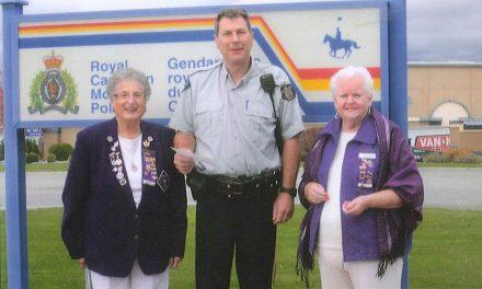 Osoyoos Royal Purple donates to DARE program