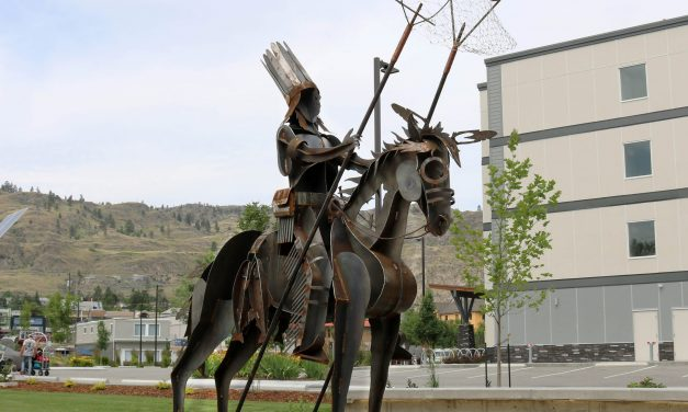 New metal sculpture represents connection between town and Osoyoos Indian Band