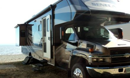 Stolen motorhome recovered in Oliver