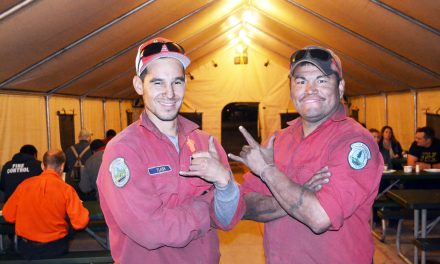 Firefighting veterans from Lillooet very proud to be part of  'one big happy family'