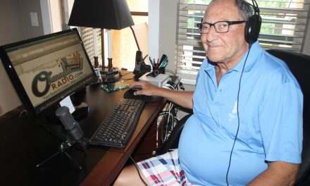 Founder of internet radio station shares his passion for jazz and 'golden oldies'