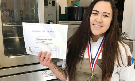 Young chef takes home bronze from Skills Canada