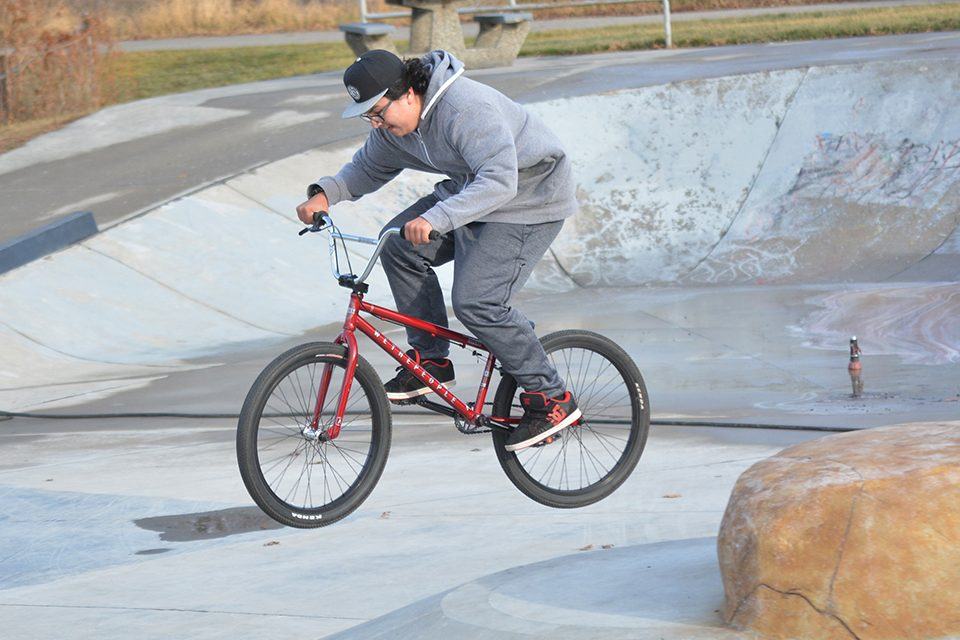 New Small Wheels Park just plain 'cool'