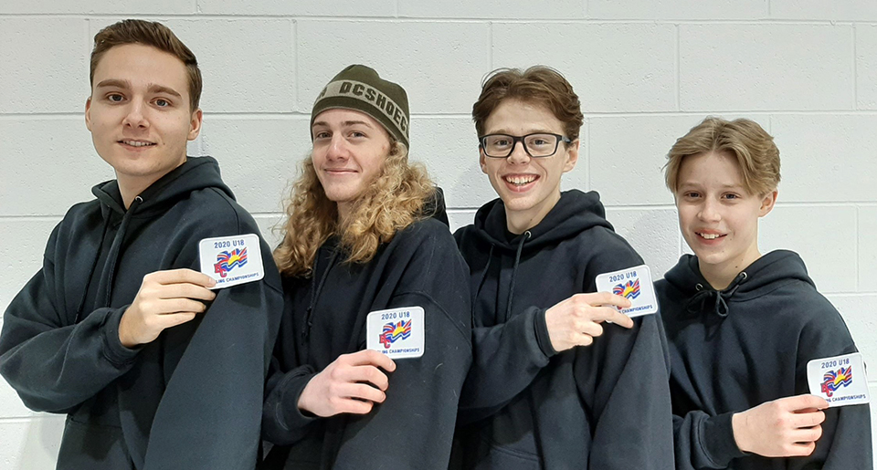 Oliver youth heading to curling championships